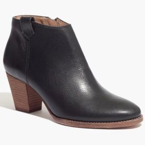 EUC Madewell Billie Boot In Black